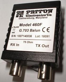 Patton 460F G.703 Balun